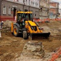 Археологические раскопки в центре Ростова-на-Дону :: Нина Бутко