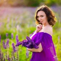 В люпиновом поле :: Виктория Ломтева