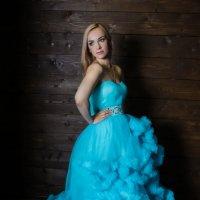 """Фотосессия в платье """"Бирюза"""" :: Марина Марамыгина"""