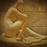 Ева.( неизвестный художник, 19 век) :: Tatiana Markova