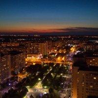 Платановый бульвар после заката в июне :: Алексей Меринов