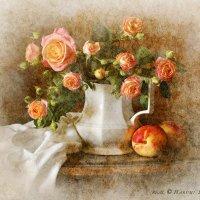 Розы в кувшине :: real Harumi Saito