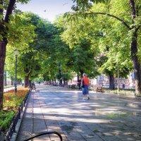 Утро на Приморском бульваре. :: Вахтанг Хантадзе