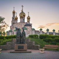Вечер в парке :: юрий Амосов