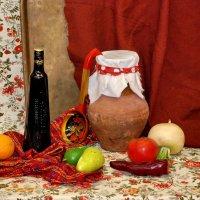 Натюрморт с бутылкой :: Николай Варламов