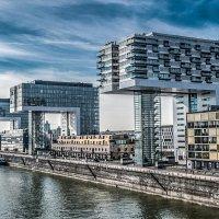 Köln, Kranhauser  Набережная Рейна :: Konstantin Rohn