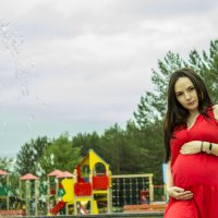 Беременная фотосессия :: Евгений Князев
