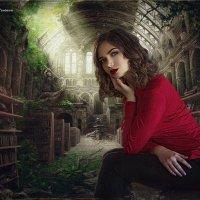 В библиотеке :: Дмитрий Головин