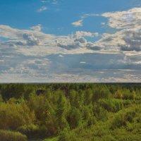 Небо и земля (этюд 1) :: Константин Жирнов