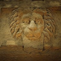 Чем сильнее ранен лев, тем плотнее кольцо гиен вокруг него.... :: Tatiana Markova
