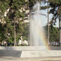 Радуга в фонтане :: Aнна Зарубина