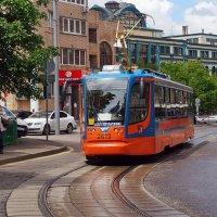 Московский трамвай. :: Юрий Шувалов