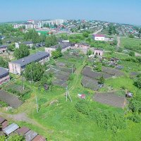 Поселок Металлургов Новокузнецкий район :: Юрий Лобачев