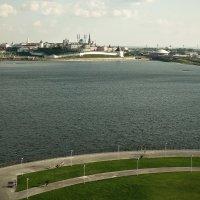 Панорама исторической части Казани :: Андрей Головкин