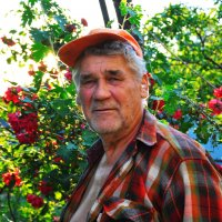 Любимый дедушка :: Алина Дериведмидь