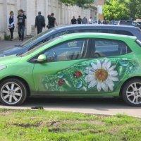Авто с ромашкой :: Дмитрий Никитин