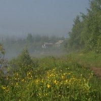 Домик в тумане. :: Валентина Налетова