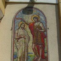 Икона   на    греко - католическом   храме   в   Опрышивцах :: Андрей  Васильевич Коляскин