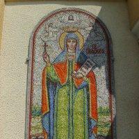 Икона   на   стене   греко - католического   храма   в   Опрышивцах :: Андрей  Васильевич Коляскин