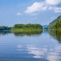 Остров Буян на реке Томи. :: Евгений челдыков