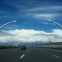 Дорога с облаками :: Galina Belugina