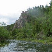 пейзаж на речке... :: sayany0567@bk.ru