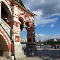 Храм Василия Блаженного (фрагмент) :: Tata Wolf