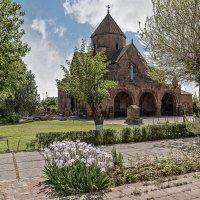 Армения. Церковь Святой Гаянэ :: Борис Гольдберг