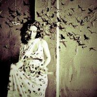 Мои мысли... как птицы :: Талия Леднева