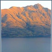 Закат над озером Вакатипу :: Евгений Печенин