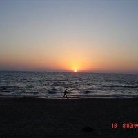 Закат солнца, :: Владимир Каплин