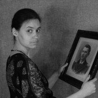 Маша и прадед. :: Алексей Мурыгин