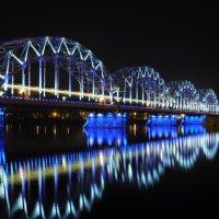 Ж\Д мост в Риге :: Andrey Spizhavka
