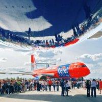 день авиации в Ульяновске :: Евгений Кузовов