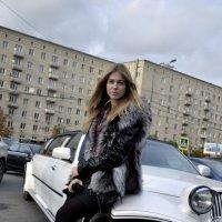 Фотосессия на Кутузовском с лимузином :: Валерия Кляйн