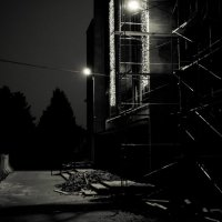 Ночь, улица, фонарь..... :: Alex In