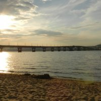 вечерний пляж :: Михаил Гранат