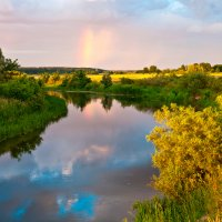 Отражение радуги :: Андрей Меренов