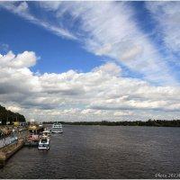 Облака над Днепром :: Виктор Марченко