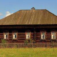 Крестьянская усадьба XIX века :: Nataliya Belova
