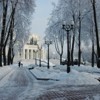 Ой, ты, зимушка-зима! :: Татьяна Кулеш