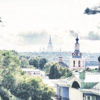 с крыши город.. :: Олеся Чигир