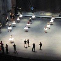 На репетиции балета. :: Маера Урусова