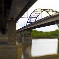 Уфа мосты через р. Белую :: Константин Вавшко