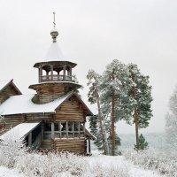 Часовня в посёлке Маньга (Карелия) :: Николай Тренин