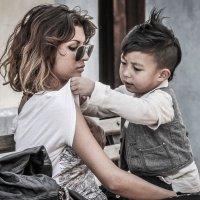 Мама и сын :: Svetlana Kas