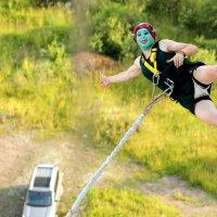 Фиона на прыжках :: Дмитрий Арсеньев