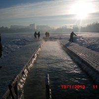 Крещенские морозы :: Андрей Пономарев