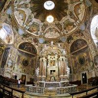 Интерьер Нового собора (Duomo Nuovo) Брешии (Италия) :: Виталий Авакян