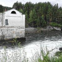 Чемальская ГЭС. :: Виктория Пашкова